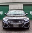 Exterior Alpine Armoring | Armored Sedan | Mercedes-Benz S550