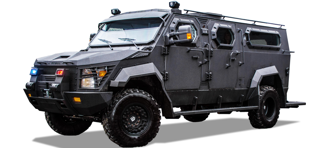 Alpine Armoring | Armored SWAT Truck | Pit-bull XL®