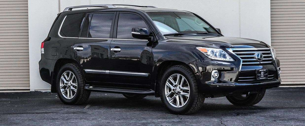 Alpine Armoring | Used Armored SUV | Used Lexus LX570