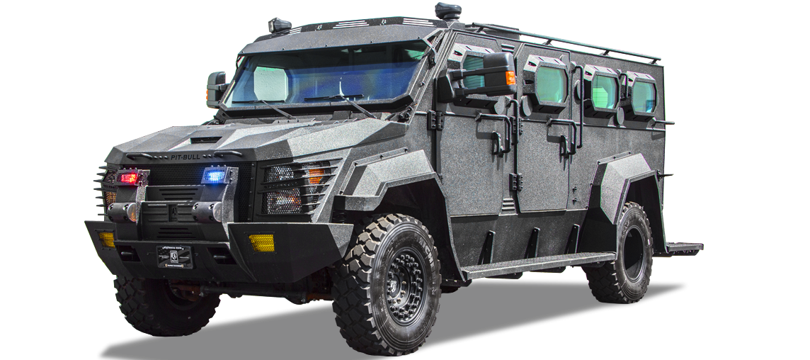 Alpine Armoring | Armored SWAT Truck | Pit-bull XL® B7