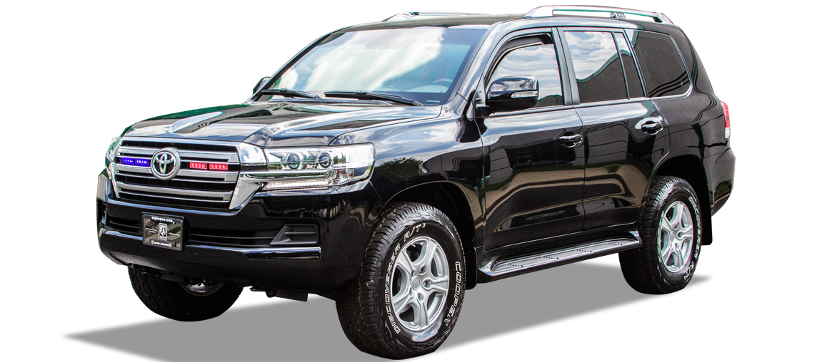 Alpine Armoring | Armored SUV | Toyota Land Cruiser 76