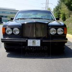 USED ARMORED BENTLEY TURBO R VIN: 3392 FACTORY EXTERIOR PHOTOS