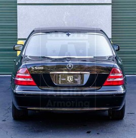 Alpine Armoring | Armored Sedan | Mercedes-Benz S500 Sguard