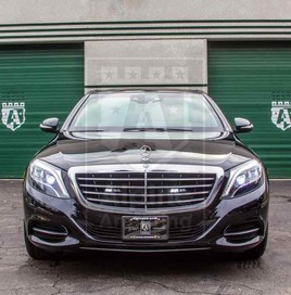 Alpine Armoring | Armored Sedan | Mercedes-Benz S550