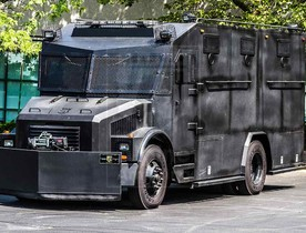Alpine Armoring | Armored SWAT Truck | Freightliner Bulldog X®