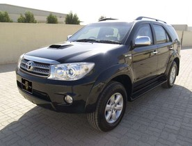 Armored Toyota Fortuner | Alpine Armoring® USA