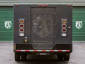 Alpine Armoring | Armored CIT  | B-BODY TRUCK | Ford F-550