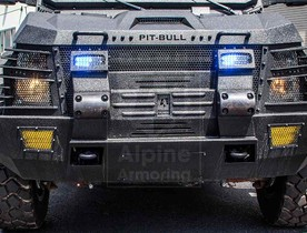 Alpine Armoring | Armored SWAT Truck | Pit-bull X®