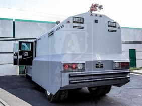 Alpine Armoring | Armored RIOT Control | Ford F-750