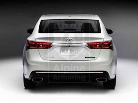 Alpine Armoring | Armored Sedan | Toyota Avalon Limited