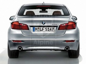 Alpine Armoring | Armored Sedan | BMW 5 Series