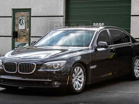 Alpine Armoring | Armored Sedan | BMW 750 Series