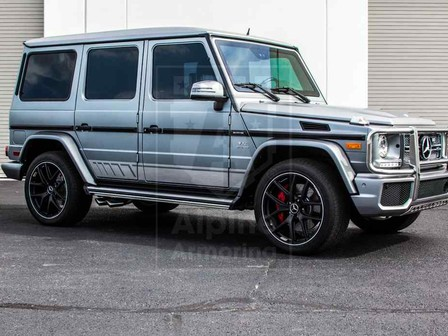 Alpine Armoring | Armored SUV | Mercedes-Benz AMG G65