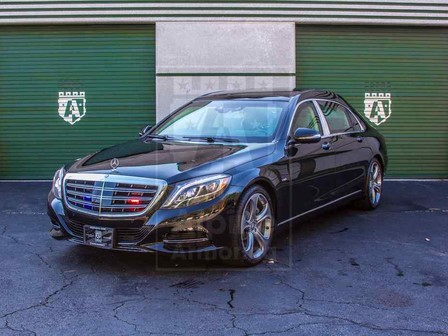 Alpine Armoring | Armored Sedan | Mercedes-Benz S600