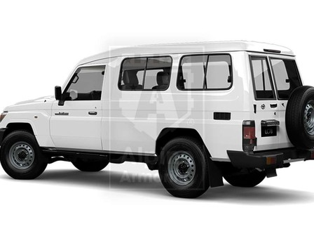 Alpine Armoring | Armored SUV | Toyota Land Cruiser 78