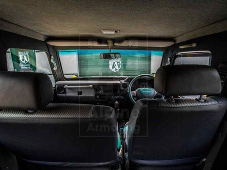 Armored Toyota Land Cruiser 76 | Alpine Armoring® USA