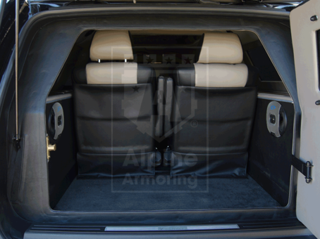 Alpine Armoring | Armored SUV | Cadillac Escalade ESV Limo Standardized Package
