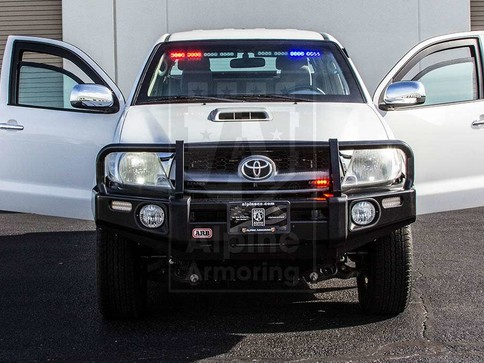 Alpine Armoring | Armored pickup truck | Toyota Hilux