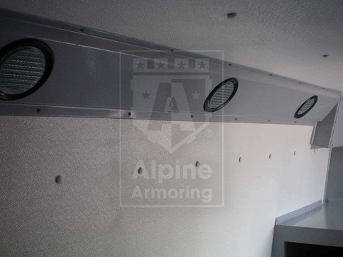 Alpine Armoring | Armored CIT Van | Mercedes-Benz Sprinter 3500
