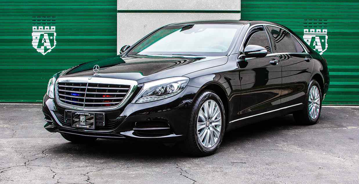 New Armored Mercedes Benz S-Class In Stock | Alpine Armoring® USA