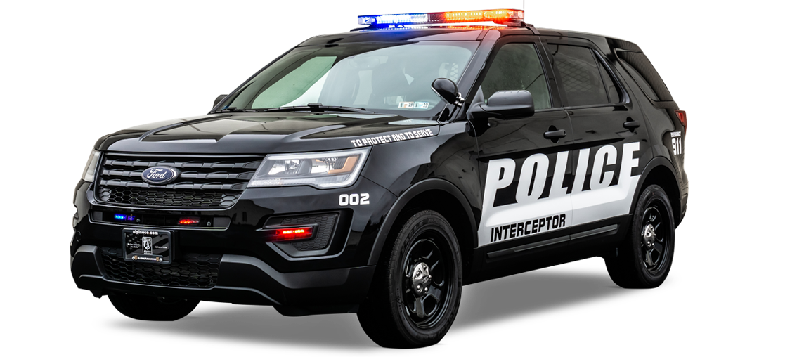 Alpine Armoring Police Vehicle Suv Ford Explorer