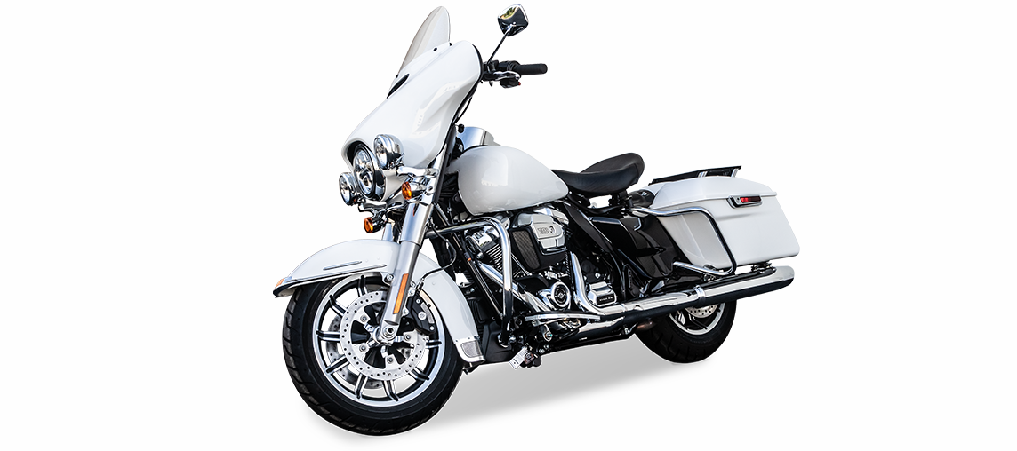 Alpine Armoring | Police Vehicle - Motorcycle | Harley-Davidson Police & Fire Electra Glide® Fire/Rescue