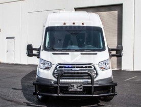 Alpine Armoring | Armored SWAT Truck | Ford Transit Pointer®