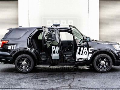 Alpine Armoring | Police Vehicle - SUV | Ford Explorer