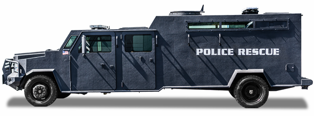 Alpine Armoring | Armored SWAT Truck | Ford F-550 Boxer®