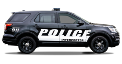 Armored Police Car - Ford Explorer