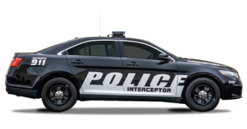 Armored Ford Taurus PPV