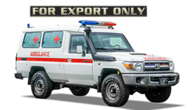 Armored Ambulance Toyota Land Cruiser 78 Series