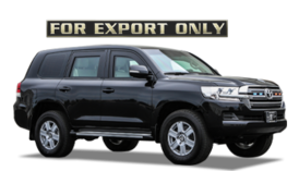 Armored Toyota Land Cruiser GXR VR7
