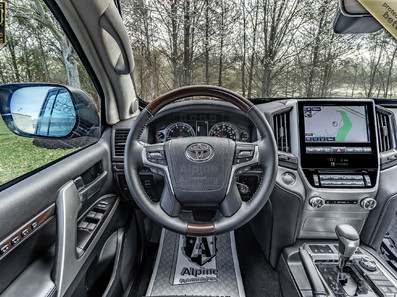 Armored Toyota Land Cruiser 200  | Alpine Armoring® USA