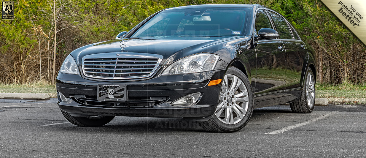 Pre-Owned Armored Mercedes-Benz S550 In Stock | Alpine Armoring® USA