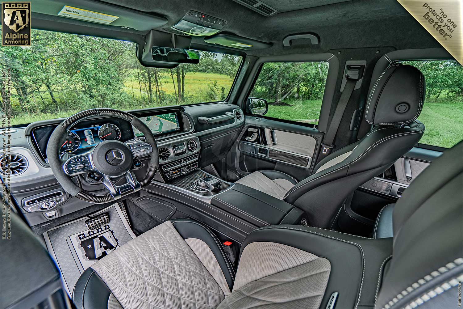 New Inventory Armored Mercedes-Benz G63 Level A9/B6+ Exterior & Interior Images VIN:5920