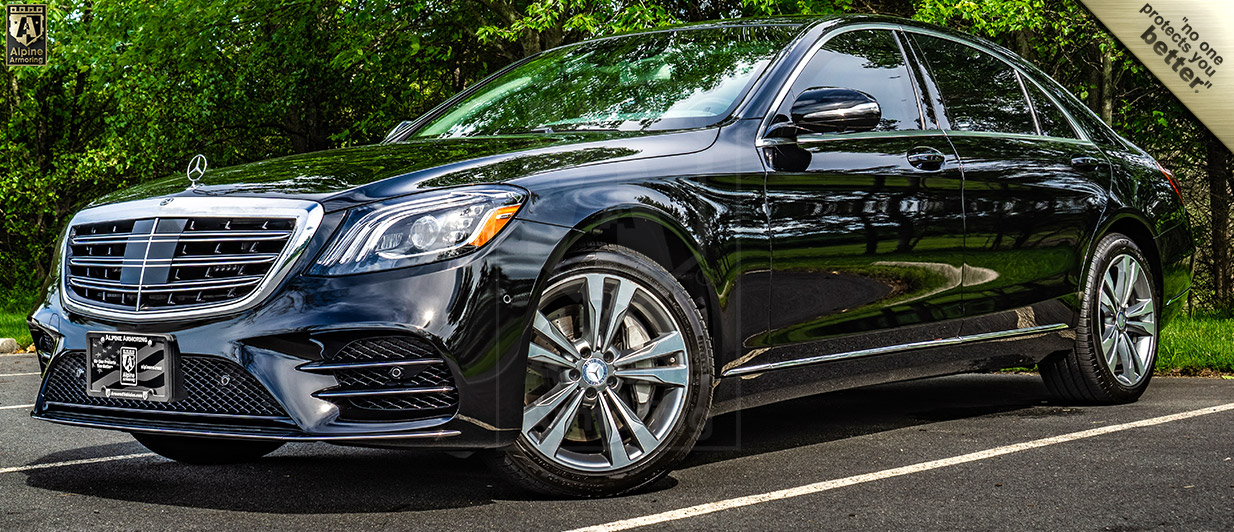 Bulletproof Mercedes-Benz S560 For Sale In Stock | Alpine Armoring® USA