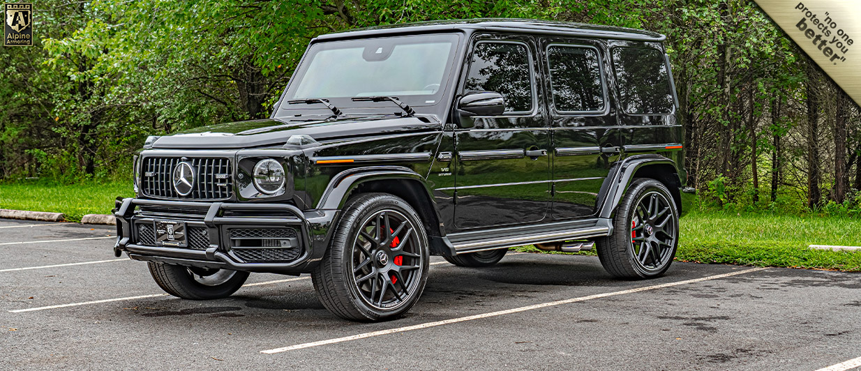 Armored Mercedes-Benz G63 AMG In Stock | Alpine Armoring® USA