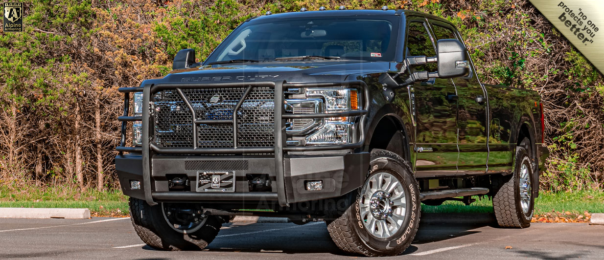 Armored Ford F350 Pickup Truck | Alpine Armoring® USA